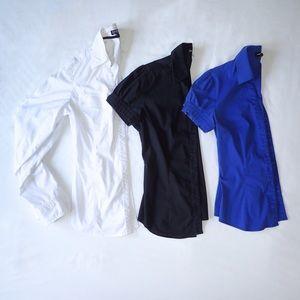 Express Short Sleeve Button Up Size XS